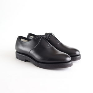 foot the coacher | フットザコーチャー [ SINGLE EYELET (CREPE SOLE) #BLACK [FTC1934005] ]