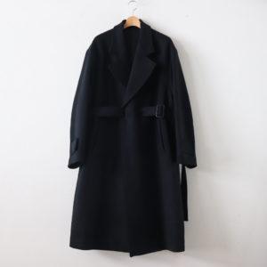 stein | シュタイン [ OVERSIZED LESS COAT #BLACK [ST.088] ]