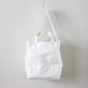 YAECA | ヤエカ [ TOOL BAG LARGE #C.WHITE [49962] ]