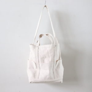 YAECA | ヤエカ [ TOOL BAG LARGE #C.NATURAL [49962] ]