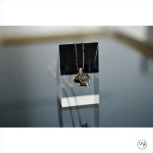 MMAA | エムエムエーエー [ NECKLACE - SILVER925,ACRYLIC #SILVER [ground-17] ]