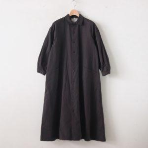YAECA | ヤエカ [ WORK SHIRT DRESS #D.BROWN [99559] ]