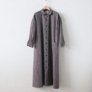 YAECA | ヤエカ [ WORK SHIRT DRESS #BRAN [99560] ]