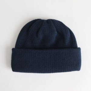 COMESANDGOES | カムズアンドゴーズ [ STANDARD KNIT #NAVY [NO.16580] ]