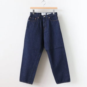YAECA | ヤエカ [ DENIM PANTS WIDE STRAIGHT #INDIGO [11-13WW] ]