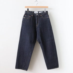 YAECA | ヤエカ [ DENIM PANTS WIDE STRAIGHT #INDIGO [11-12W] ]