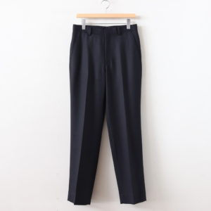 AURALEE | オーラリー [ WOOL KID MOHAIR KERSEY SLACKS #DARK NAVY [A20SP03MK] ]