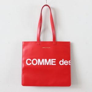 Wallet COMME des GARCONS | ウォレット コム デ ギャルソン [ トートバッグ SA9001HL #HUGE LOGO/RED [8Z-T403-051] ]