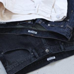 AURALEE | HARD TWIST DENIM 5P PANTS