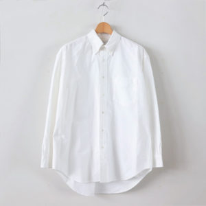 Graphpaper | グラフペーパー [ OXFORD L/S B.D BOX SHIRT #WHITE [GM201-50165B] ]