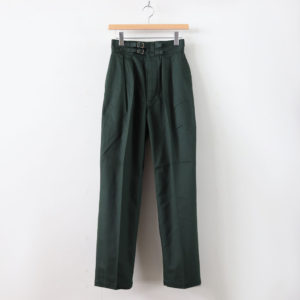 LENO | リノ [ DOUBLE BELTED GURKHA TROUSERS #KHAKI [L2001-PT001] ]