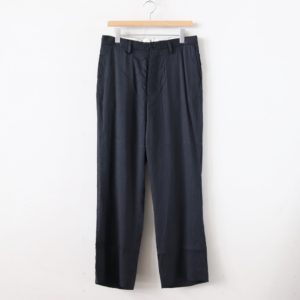 YAECA | ヤエカ [ 3B JACKET SET UP PANTS #CHARCOAL [40601] ]