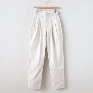 LENO | リノ [ 2 TUCK TROUSERS #IVORY [L2001-PT002] ]