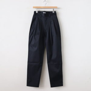 LENO | リノ [ 2 TUCK TROUSERS #NAVY [L2001-PT002] ]