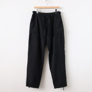 LENO | リノ [ 6POCKET BDU PANTS #BLACK [H2001-PT006] ]