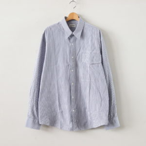 gourmet jeans | グルメジーンズ [ IRREGULAR POCKET SHIRT #BLUE [GR-SH] ]