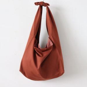 Dulcamara | ドゥルカマラ [ よそいきトートBAG-P #RED BROWN [D120-B100-P] ]