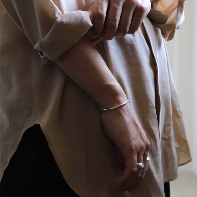 AURALEE | SHUTTLE GEORGETTE CLOTH SHIRTS