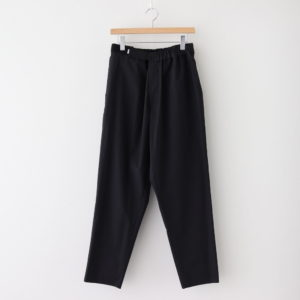 Graphpaper | グラフペーパー [ STRETCH TYPEWRITER CHEF PANTS #BLACK [GM202-40619B] ]