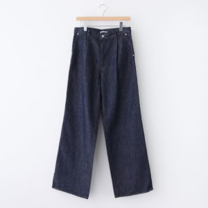 AURALEE | オーラリー [ HARD TWIST DENIM WIDE SLACKS #INDIGO [A20AP02DM] ]