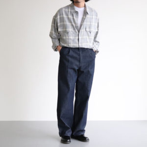 チャクラのコーディネート [ AURALEE / gourmet jeans / FOOT THE COACHER ]