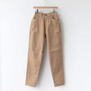 LUCY CORDUROY PANTS #BEIGE [L2002-PT003]