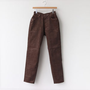 LUCY CORDUROY PANTS #BROWN [L2002-PT003]
