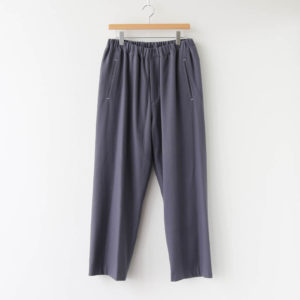 Graphpaper | グラフペーパー [ WOOL FLANNEL EASY PANTS #C.GRAY [GM203-40068] ]