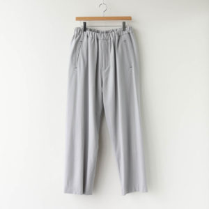 Graphpaper | グラフペーパー [ WOOL FLANNEL EASY PANTS #L.GRAY [GM203-40068] ]