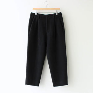 Graphpaper | グラフペーパー [ DOUBLE CLOTH MOLESKIN TROUSER #BLACK [GM203-40024B] ]