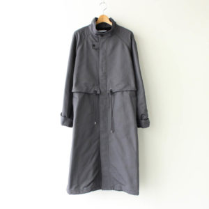 Graphpaper | グラフペーパー [ DOUBLE FACE TWILL STAND COLLAR COAT #C.GRAY [GM203-10080] ]