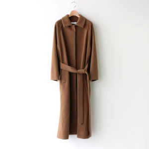 Graphpaper | グラフペーパー [ WOOL FLEECE COAT #CAMEL [GL203-10118B] ]