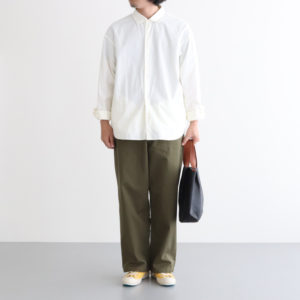 チャクラのコーディネート [ YAECA / FreshService / Hender Scheme / SHOES LIKE POTTERY ]