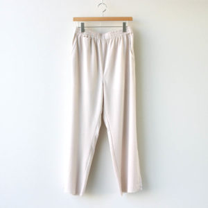 Alice Lawrance | アリス ローレンス [ LINEN EASY TROUSERS 02 #IVORY [AL20SS019] ]