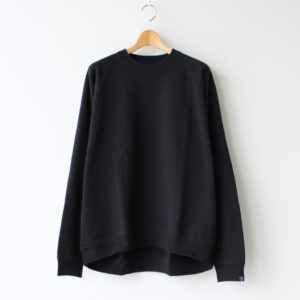 Graphpaper | グラフペーパー [ LOOPWHEELER FOR GP RAGLAN SWEAT #BLACK [GU203-70172B_L] ]
