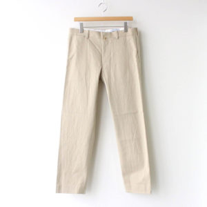 YAECA | ヤエカ [ CHINO CLOTH PANTS STANDARD #BEIGE [10654] ]