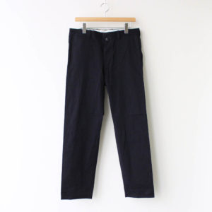 YAECA | ヤエカ [ CHINO CLOTH PANTS STANDARD #NAVY [10654] ]