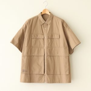 FreshService | フレッシュサービス [ FIVE POCKET SHIRT #BEIGE [FSW-19-SH_02] ]