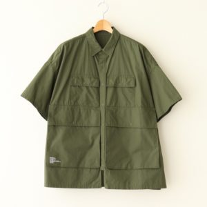 FreshService | フレッシュサービス [ FIVE POCKET SHIRT #KHAKI [FSW-19-SH_02] ]