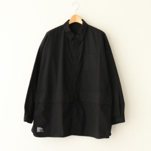 FreshService | フレッシュサービス [ CARGO POCKET REGULAR COLLAR UTILITY SHIRT #BLACK [FSW-20-SH_01] ]