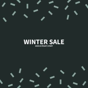 IMFORMATION | WINTER SALE開催