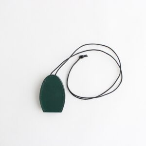ED ROBERT JUDSON | エド ロバート ジャドソン [ SMOOTHED COW LEATHER OVAL CROCHET #GREEN [B01RAC-21] ]