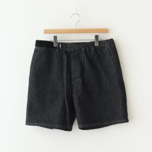 Graphpaper | グラフペーパー [ COLORFAST DENIM WIDE CHEF SHORTS #INDIGO [GM211-40116B] ]