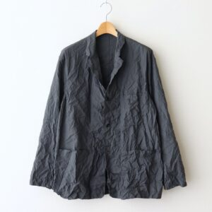 Graphpaper | グラフペーパー [ WRINKLED FRENCH WORK JACKET #C.GRAY [GM211-20087] ]
