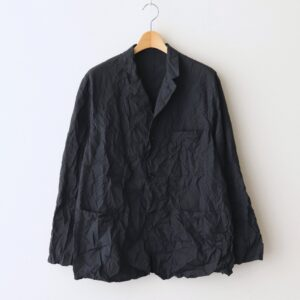 Graphpaper | グラフペーパー [ WRINKLED FRENCH WORK JACKET #BLACK [GM211-20087] ]