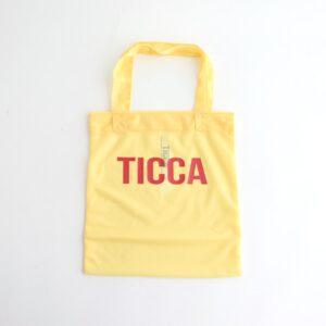 TICCA | ティッカ [ シアートートバッグ #YELLOW [TBAS-611] ]