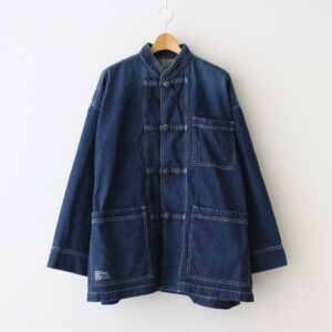 FreshService | フレッシュサービス [ DENIM KUNG-FU COVERALL #FADED INDIGO [FSW-21-CT_16] ]