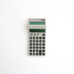 FreshService | フレッシュサービス [ DOUBLE SIDE CALCULATOR #GRAY [FSW-19-AC_11] ]