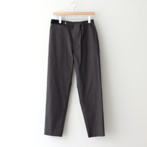 Graphpaper | グラフペーパー [ STRETCH TYPEWRITER SLIM CHEF PANTS #GRAY [GM211-40618B] ]