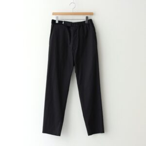 Graphpaper | グラフペーパー [ STRETCH TYPEWRITER SLIM CHEF PANTS #BLACK [GM211-40618B] ]